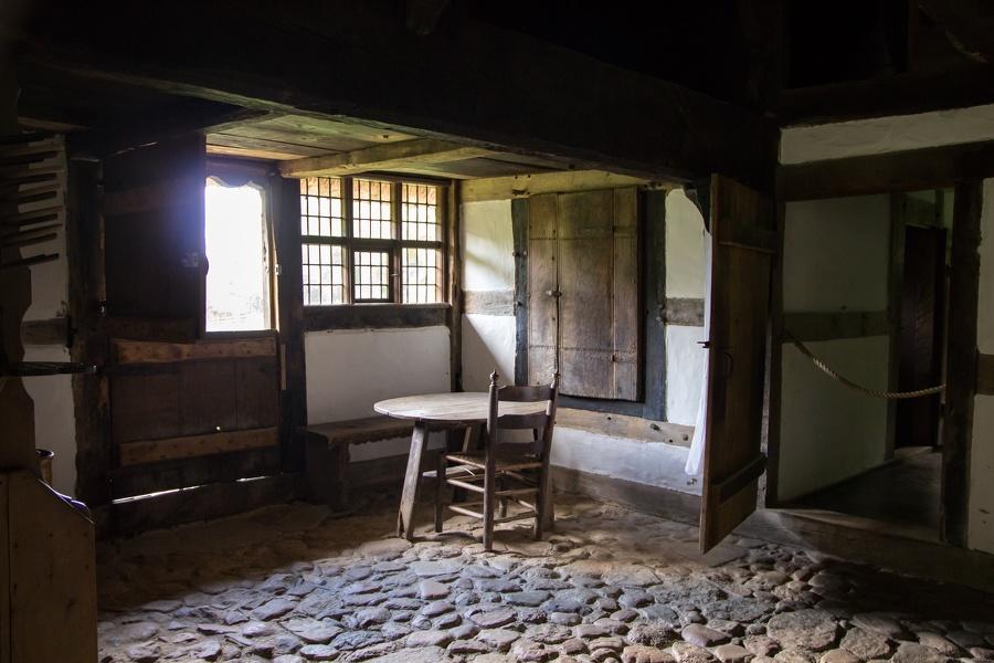 Sitzecke im alten Bauernhaus